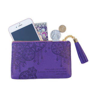 Intrinsic-Violet Coin Purse
