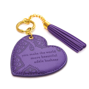 Intrinsic-Violet Key Chain