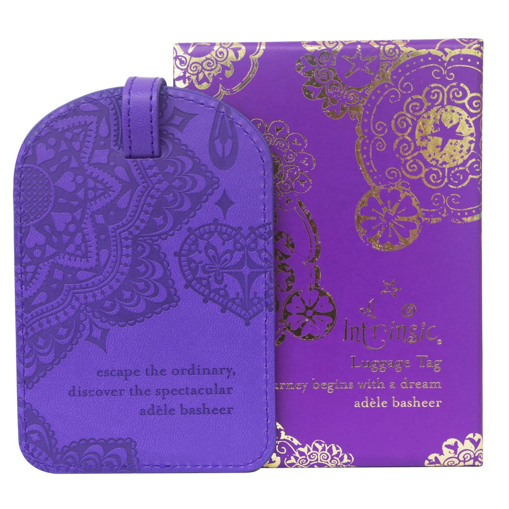 Intrinsic-Violet Luggage Tag