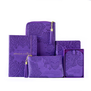 Intrinsic-Violet Passport Wallet