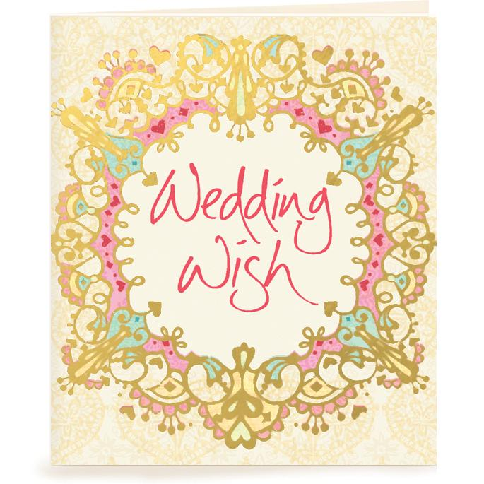Intrinsic-Wedding Wish Gift Tag