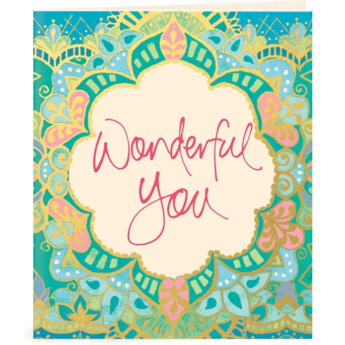 Intrinsic-Wonderful You Gift Tag