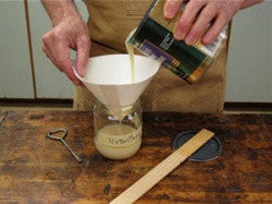 TIP: Pour Over to a Separate Container