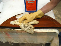 TIP: Alchohol and Lacquer Thinner for Stripping
