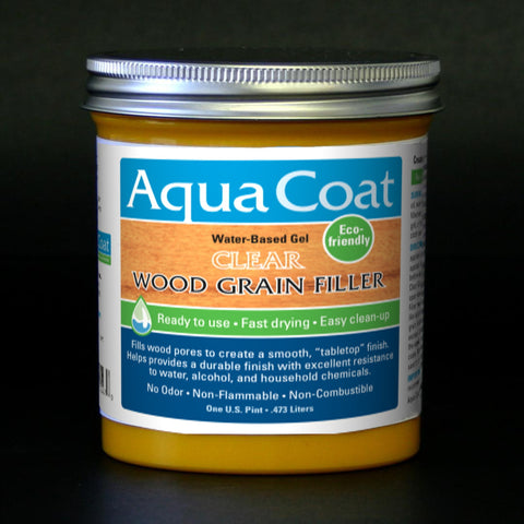 Aqua Coat Premium Water-Based Clear Grain Filler