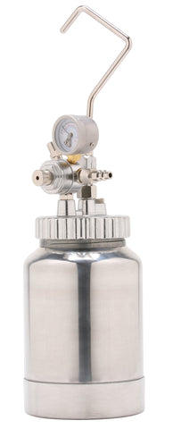 A4200  2 Qt. (2 L) Pressure Pot with Single Regulator and Gauge