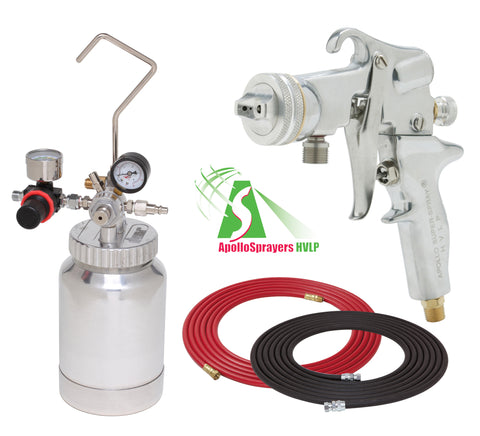 A4220-3/8-5106  2 Quart Combo Package with the 5106 Spray Gun