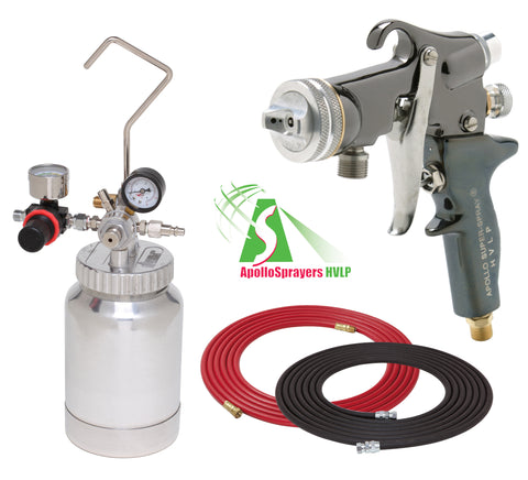 A4220-3/8-5605  2 Quart Combo Package with the 5605 Spray Gun