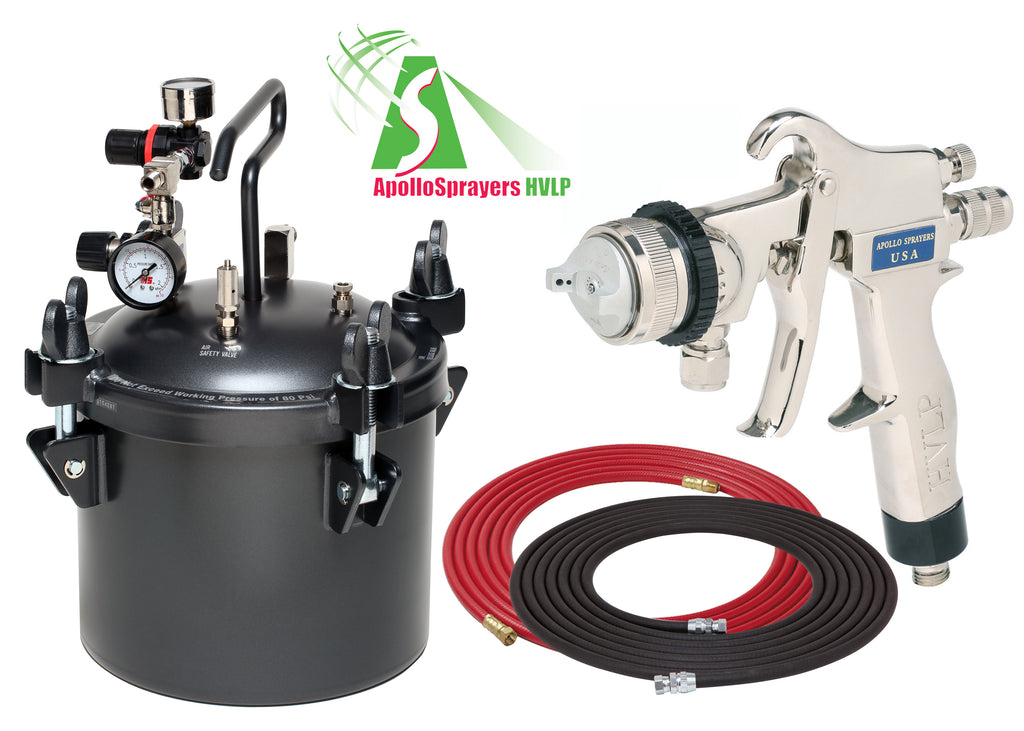 A4230-8200  2.5 Gallon Combo Package with the 8200 Spray Gun