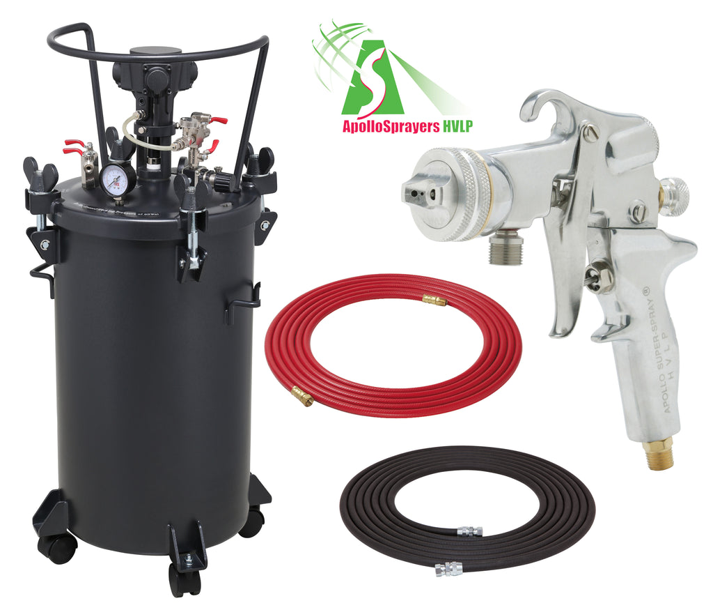 A4256-5106  10 Gallon Combo Package with the 5106 Spray Gun