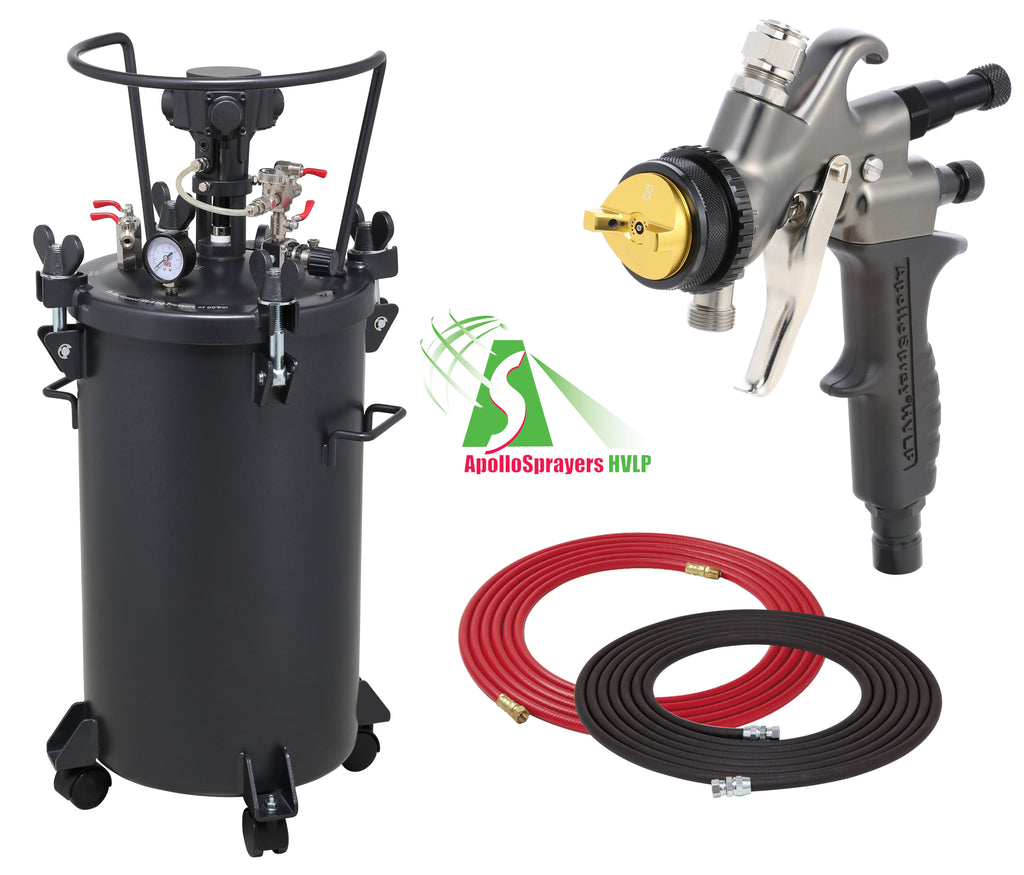 A4256-7700C  10 Gallon Combo Package with the 7700C Spray Gun