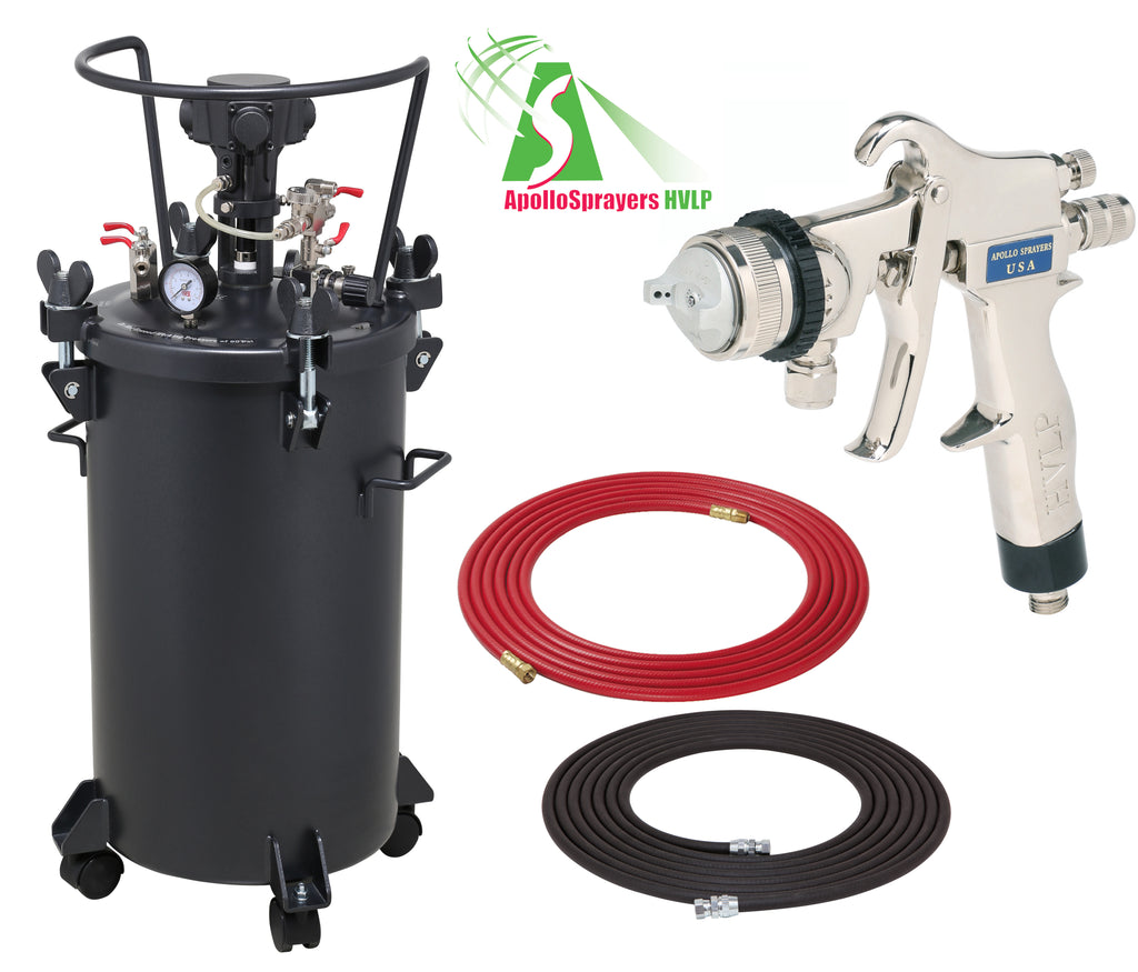 A4256-8200  10 Gallon Combo Package with the 8200 Spray Gun