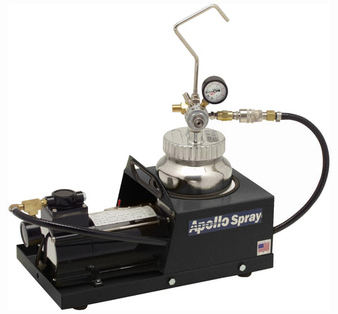 "A4500-110-B-1/4-20  Apollo 2 Qt. (2L) Fluid Feed System with 1/4"" Material Hose"