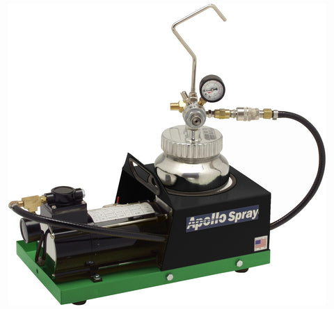 "A4500-110-G-1/4-20  Apollo 2 Qt. (2L) Fluid Feed System with 1/4"" Material Hose"