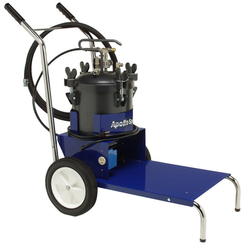 Apollo Mobile Cart and Fluid Feed System with 30 ft. hose