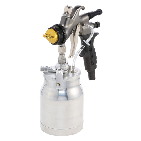 Elite Fine Finsh A7700QT - Apollo HVLP Turbine Atomizer Spray Gun with a 1 Quart Cup