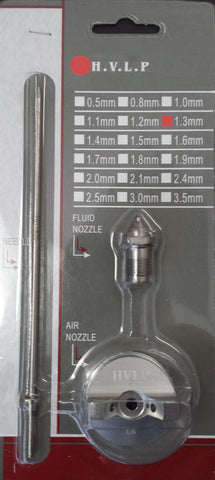 E7034 - 1.3mm Needle, Nozzle & Air Cap Kit