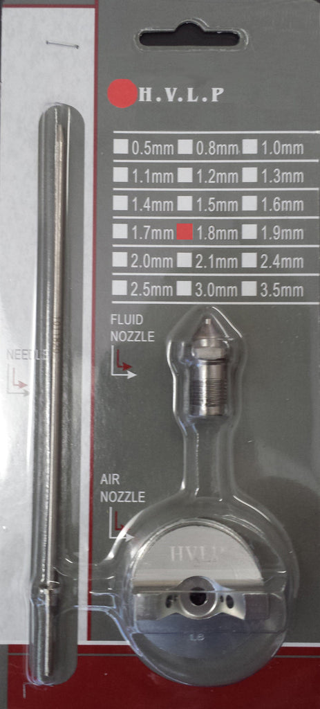 E7035 - 1.8mm Needle, Nozzle & Air Cap Kit