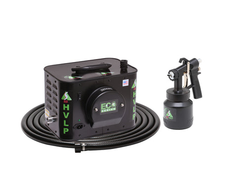 E4-110-6  ECO-4 Turbine Paint Spray System with E6000 Spray Gun