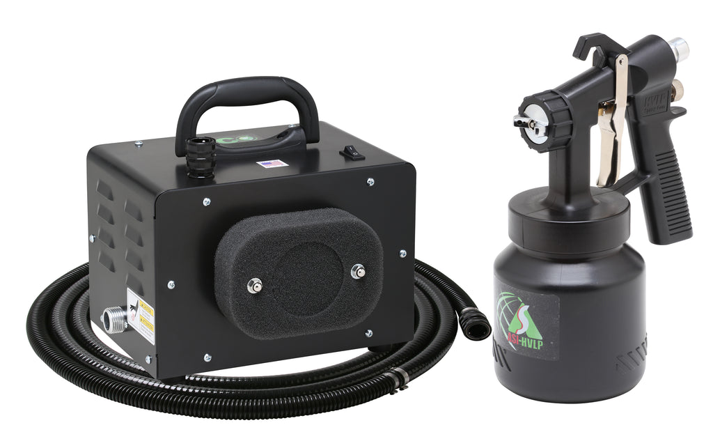 EM300-110-6  ECO-Mini with E6000 Bleeder Spray Gun