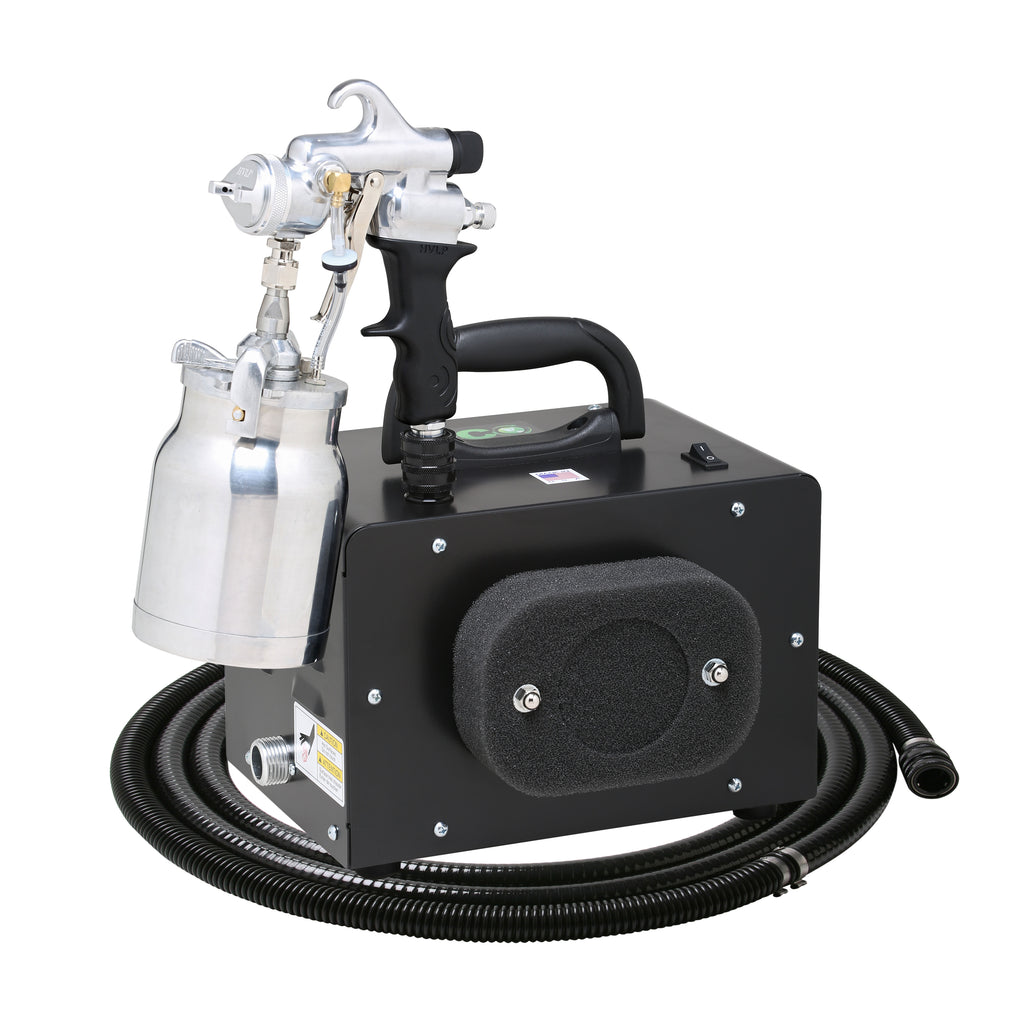 EM300-110-72  ECO-MINI with the E7200 Non-Bleed Spray Gun