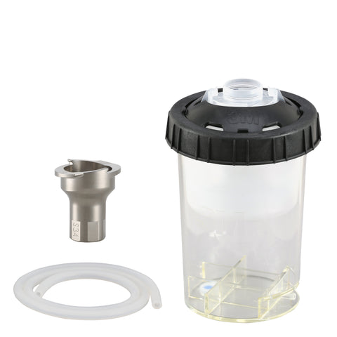 FS2501-2  3M Paint Preparation System Type 2.0 H/O Mini Cup,  #S34 Adapter, 6.8oz Lid & Liner