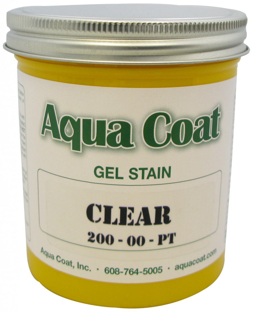Aqua Coat Waterbased Gel Stains