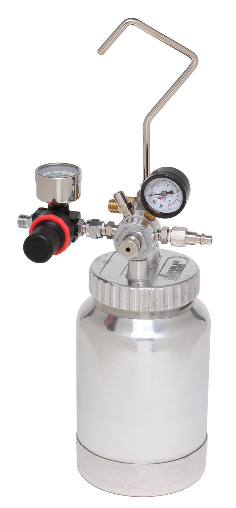 A4221  2 Qt. (2 L) Pressure Pot with Dual Regulator and Gauge