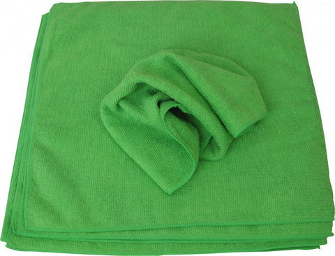 FS1700  Micro Fiber Cloths, 10 pack 12 in. x 12 in. GREEN
