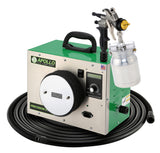 Apollo PRECISION-5 PRO Turbo paint spray system with 7700QT spray gun and Elite Fine Finish accessory package