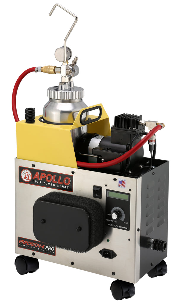 Apollo PRECISION-5 PRO Limited Edition Production Turbo Spray System with Elite Fine Finish Value Package