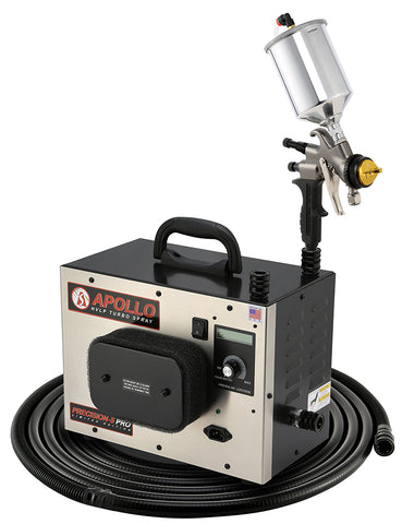 P5PROLE-110-7700GT-600  Apollo Model PRECISION-5 PRO LE Turbo paint spray system with 7700GT-600 spray gun