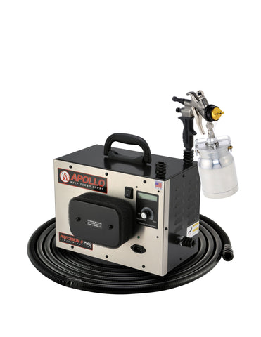 P5PROLE-110-7700QT  Apollo Model PRECISION-5 PRO LE Turbo paint spray system with 7700QT spray gun