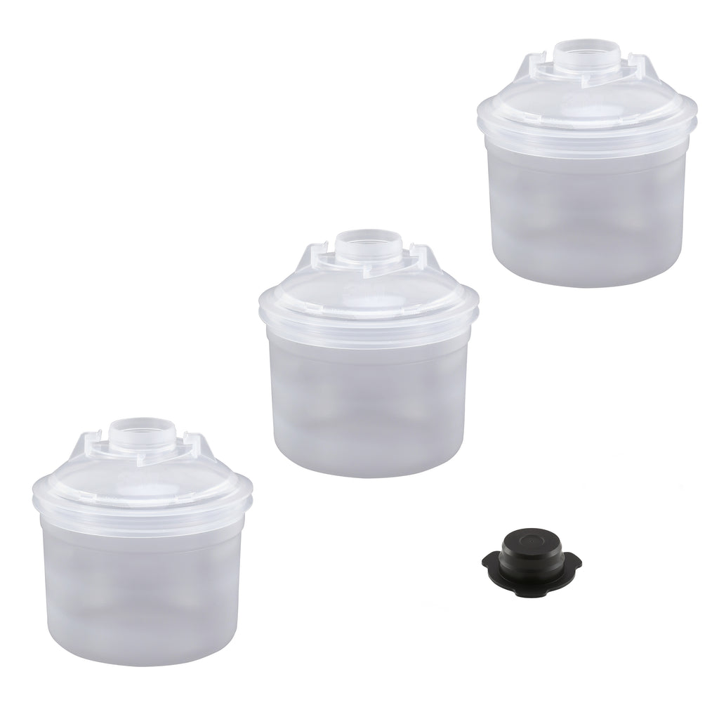 FS2503-2  2.0 6.8oz (200mL) Lids & Liners
