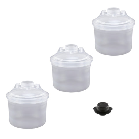 FS2508-2  2.0 13.5oz (400mL) Lids & Liners with a Cap.