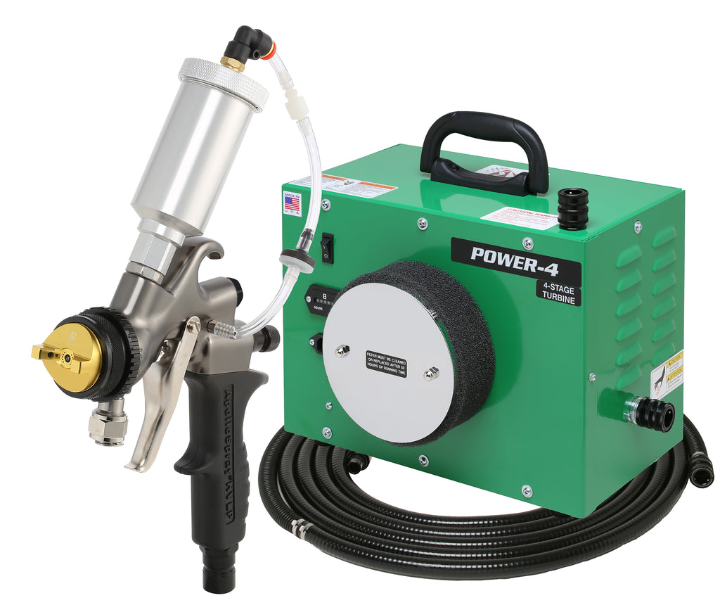 PW4-110-7700GT-90  Apollo POWER-4 - Turbo paint spray system with 7700GT-90 spray gun