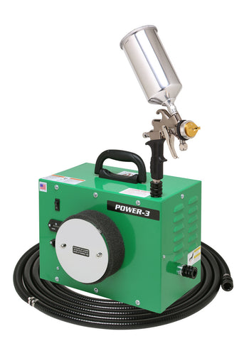 PW3-110-7700GT-1000 Apollo POWER-3 Turbo Paint Spray System with 7700GT-1000 Spray Gun