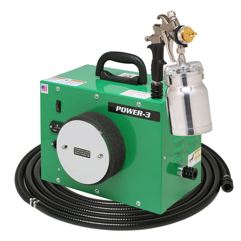 PW3-110-7700QT   Apollo POWER-3 Turbo paint spray system with 7700QT spray gun