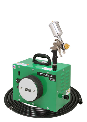PW4-110-7500GT-250  Apollo POWER-4 - Turbo paint spray system with 7500GT-250 spray gun