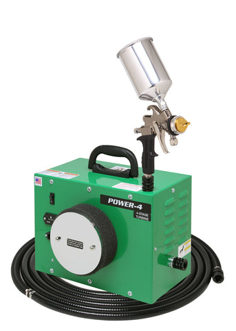 PW4-110-7500GT-600  Apollo - POWER-4 Turbo paint spray system with 7500GT-600 spray gun
