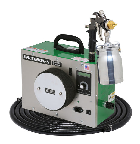 P5-110-7700QT Apollo Model PRECISION-5 Turbo paint spray system with 7700QT spray gun