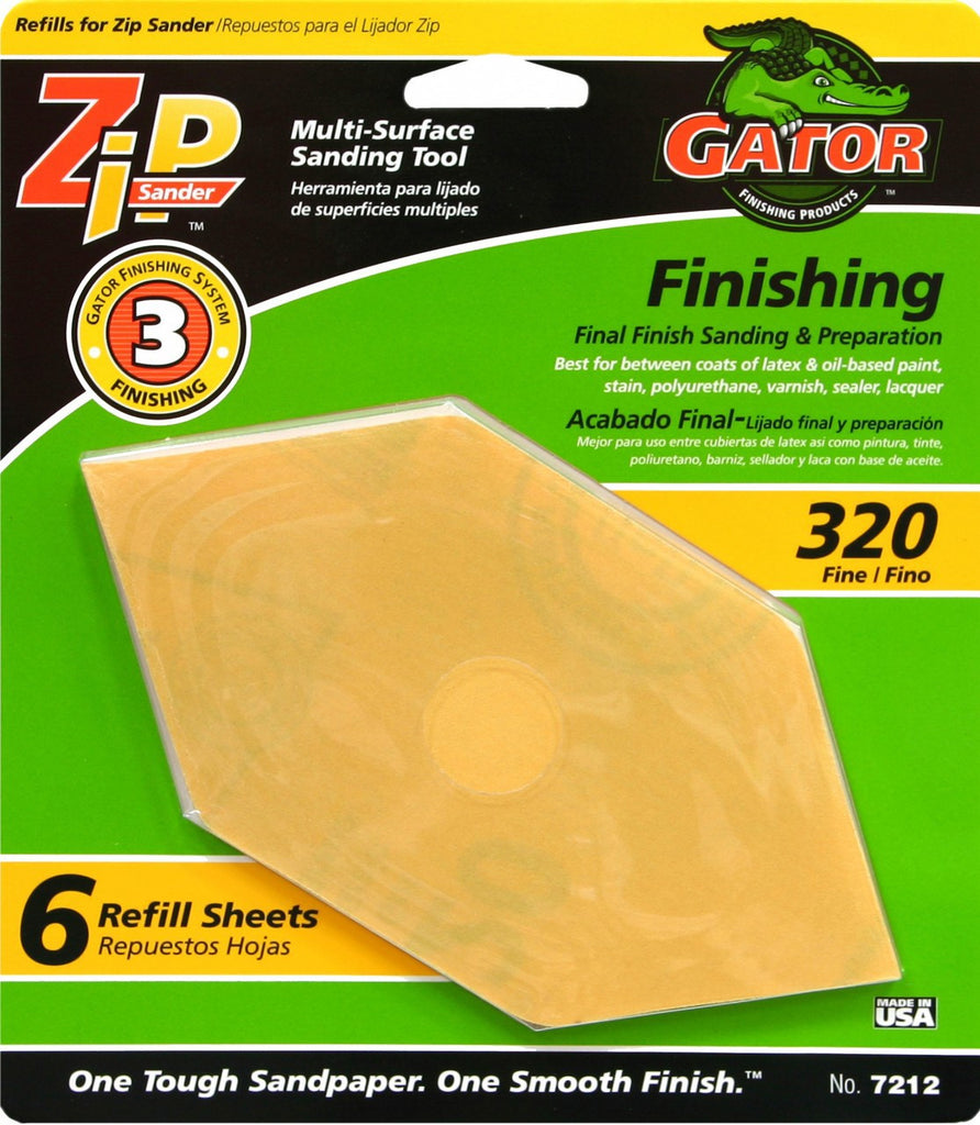 Zip Sander with Refill 6pk