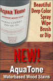 Aqua Tone Waterbased Wood Stains