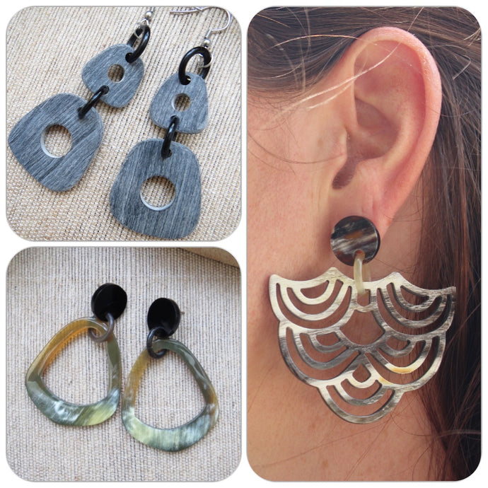 Tips To Wear Buffalo Horn Statement Earrings