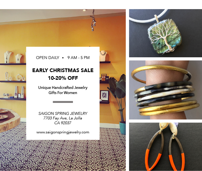 Early Christmas Sale In La Jolla