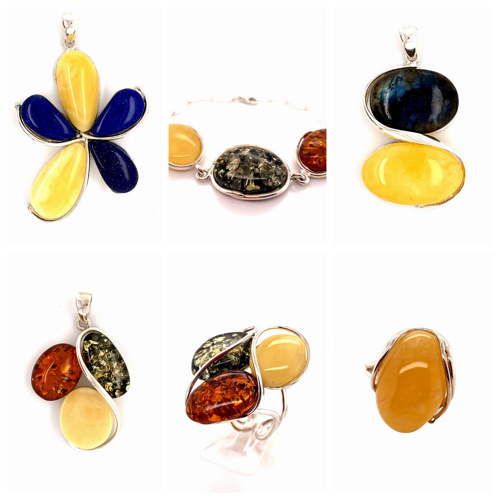 Amber Jewelry In La Jolla