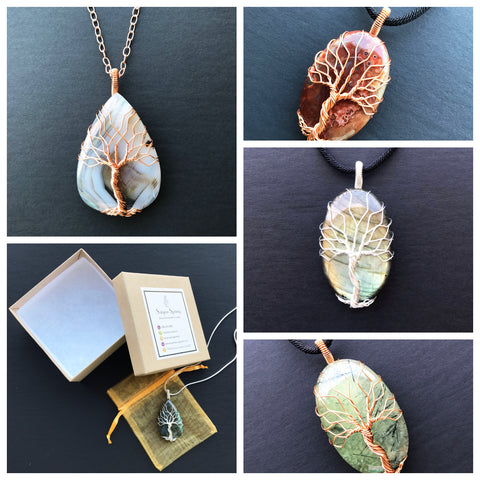 Tree Of Life Necklaces by Saigon Spring Jewelry In La Jolla