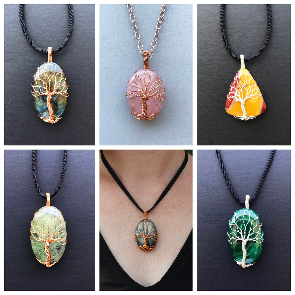 Meaningful Tree Of Life Necklaces