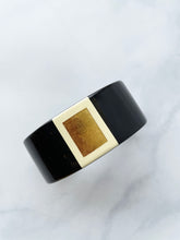 Load image into Gallery viewer, Black And Red Cuff Bracelet