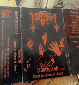 NOCTURNAL 'Unholycraft - Blood for the Glory of Satan' [SPR29]